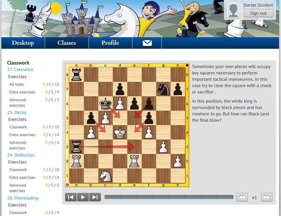 CSO Starter: Full Course (ELO 0-1400) - €31 96 : ChessOK