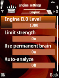 Engine Settings