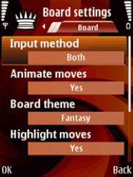 Board Settings
