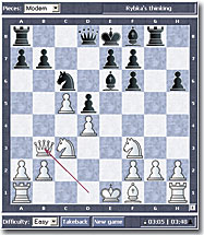 Play Chess against Computer - ChessOK com
