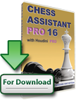 Chess Assistant 16 PRO with Houdini 4 PRO (download)