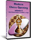 Buy Modern Chess Opening 4: Semi-Closed Games (CD)