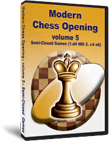 Modern Chess Opening 5: Semi-Closed Games (CD)