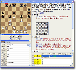 Chess Assistant 10 Screenshot (click to enlarge)