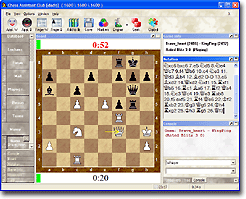 ChessOK Playing Zone Screenshot (click to enlarge)