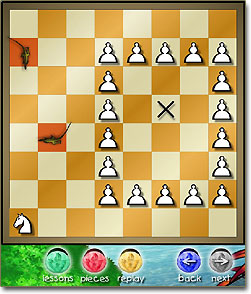 Dinosaur Chess Screenshot (click to enlarge)
