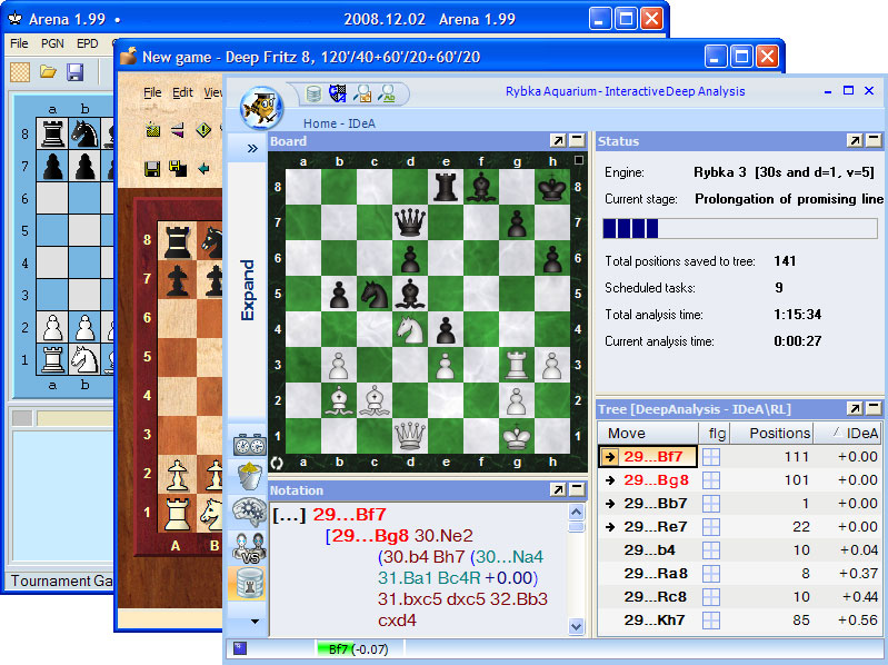 arena chess download for windows 7