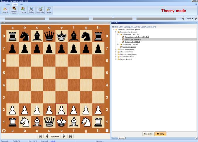 Semi-Open Games Modern Chess Opening 2 NEW CD 1.e4